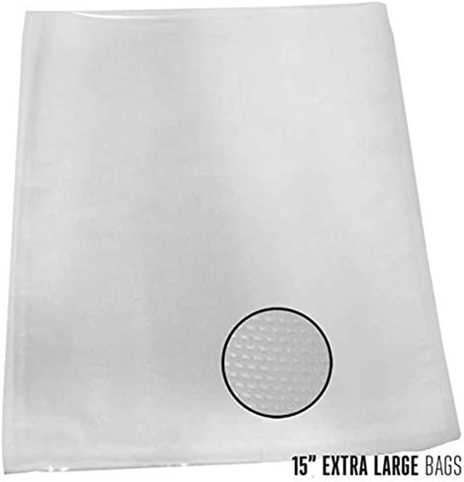 """Weston 30-0105-K Vacuum Sealer Bags (100 Count), 15"""" x 18"""""""