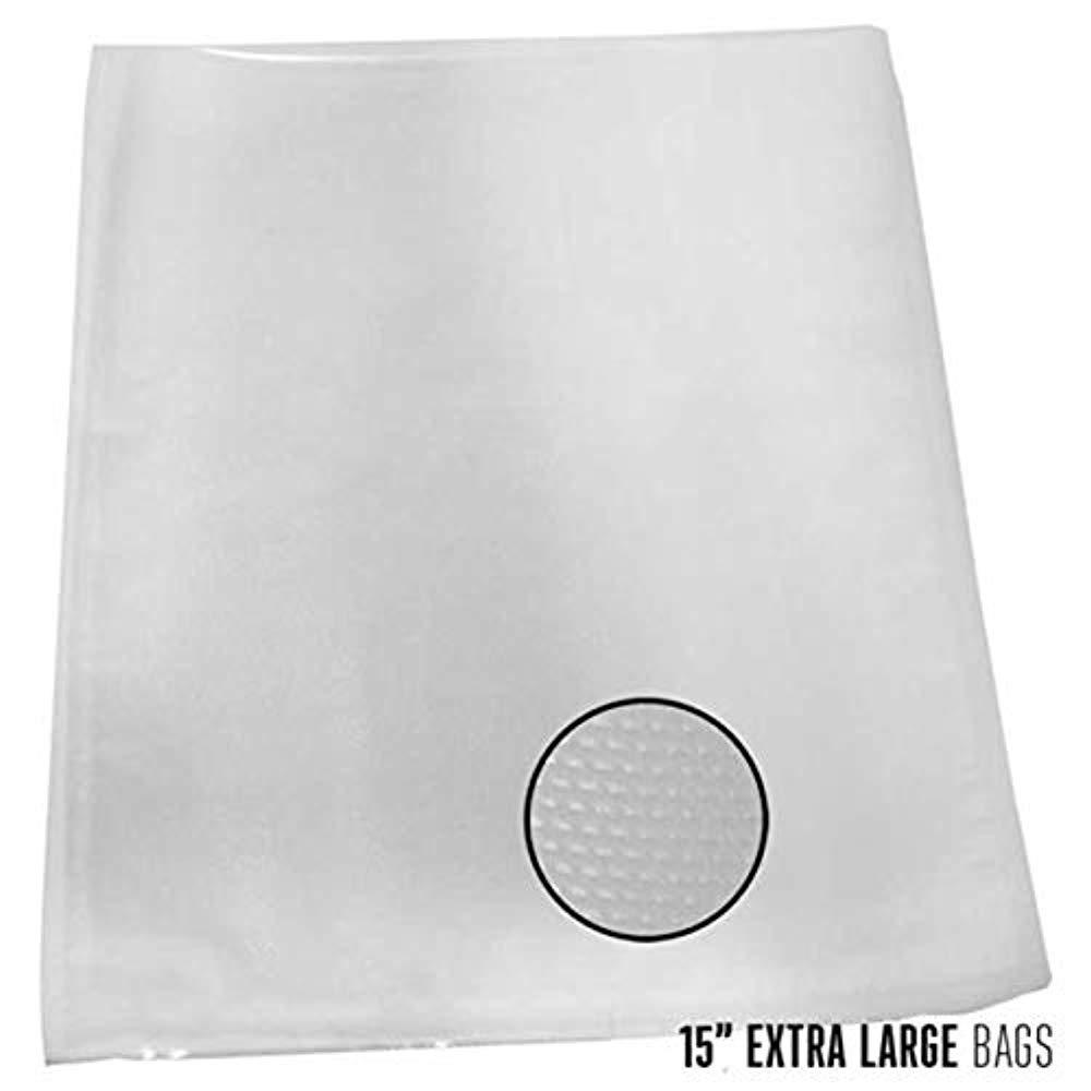 Weston 30-0105-K Vacuum Sealer Bags (100 Count), 15'' x 18''