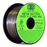 INETUB BA71TGS .035-Inch on 2-Pound Spool Carbon Steel Gasless Flux Cored Welding Wire by INE USA Since 1950