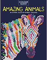 Colour Quest: Amazing Animals: An Extreme Colour by Numbers Challenge
