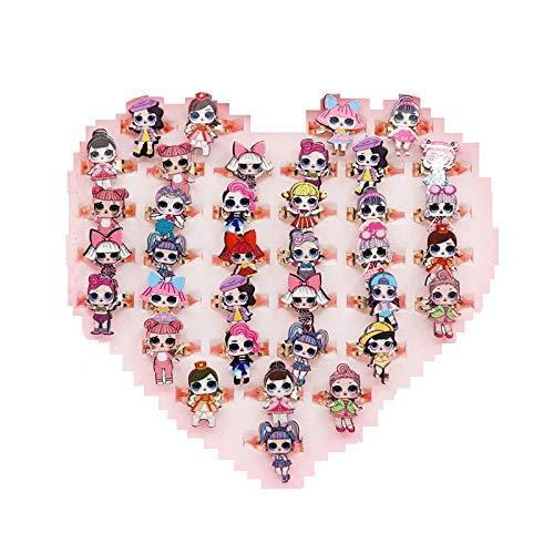 LOL Surprise Doll 36 Piezas Anillos muñecas Regalo de ...