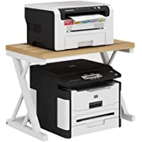 Print Racks Printer Shelf Creative Office Shelf Office Copier Storage Rack Desktop Double-Layer Printer Storage Rack…