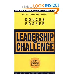 The Leadership Challenge, 4th Edition (Paperback) James M. Kouzes (Author) Barry Z. Posner (Author)