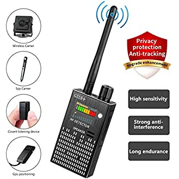 Eilimy Anti-Spy Wireless RF Signal Detector [2019 Latest Upgrade]BUG GPS Hidden camera Signal Detector,for Hidden Camera GSM Eavesdropping Device GPS Radar ...