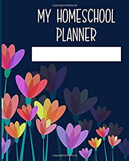 My Homeschool Planner: Weekly Planner for Kids and Students ...