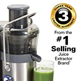 Hamilton Beach Easy Clean Big Mouth 2-Speed Juice Extractor (67850)