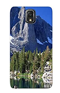 Tpu Case Cover Compatible For Galaxy Note 3/ Hot Case/ First Lakeierra Nevada Range California