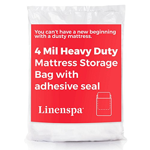 linenspa-heavyweight-4-mil-mattress-bag-with-adhesive-closure-strip-moving-and-storage-plastic-cover
