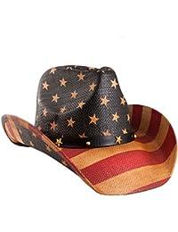 Classic American Flag Cowboy Hat
