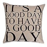 Vibola cartoon cotton Linen decorative cushion cover Sofa...