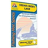 Cedar Creek Lake Fishing Map