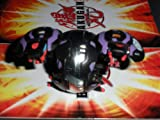 Bakugan Battle Brawlers Darkus Chrome Black Hydranoid LOOSE 400G 450G by Bakugan