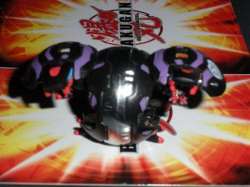 Bakugan Battle Brawlers Darkus Chrome Black Hydranoid LOOSE 400G/450G by Bakugan