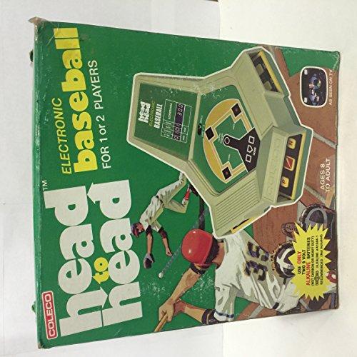 Vintage Coleco Head Electronic Baseball product image