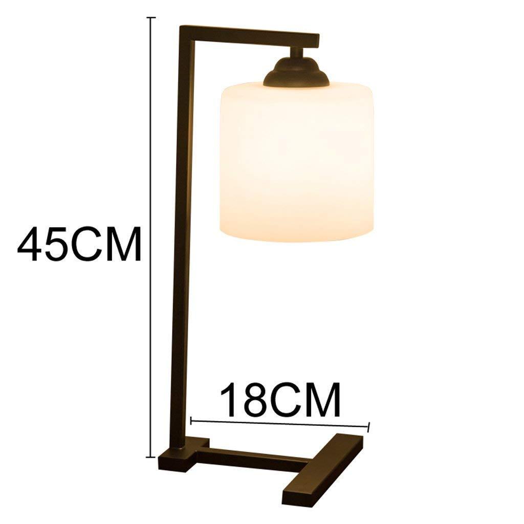 AAWYL Tischlampe Landschaft Retro Tischlampe Nordic Kreative Persönlichkeit Warm Schlafzimmer Nachttischlampen, Student Schlafsaal Augenlampe