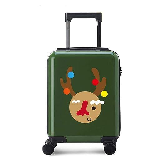 KQKLQQ Alces de Navidad, del Lado Suave Caja de la Carretilla de ...