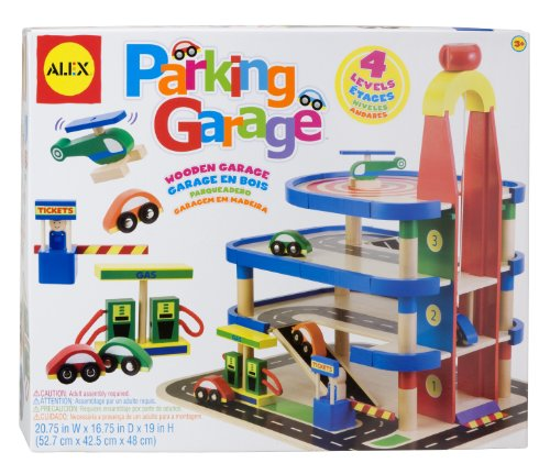 ALEX Toys Parking Garage (Car Wash Toys Alex)