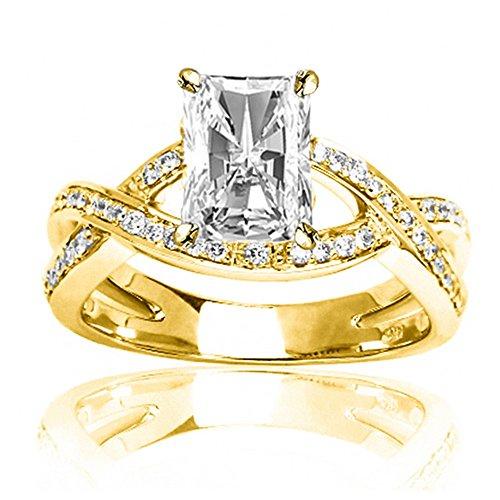 0.79 Ct Radiant Diamond - 6