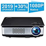 1080P Native Projector, HDEYE Full HD Led Video Home Theater Projector With 150""
