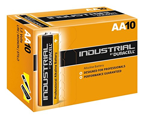 Duracell Industrial AA | Box of 10 Batteries