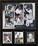 MLB New York Yankees Jeter-Gehrig-Munson Legacy Collection Plaque, 12 x 15-Inch