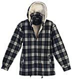 Product review for Gioberti Mens Sherpa Lined Flannel Jacket with Removable Hood