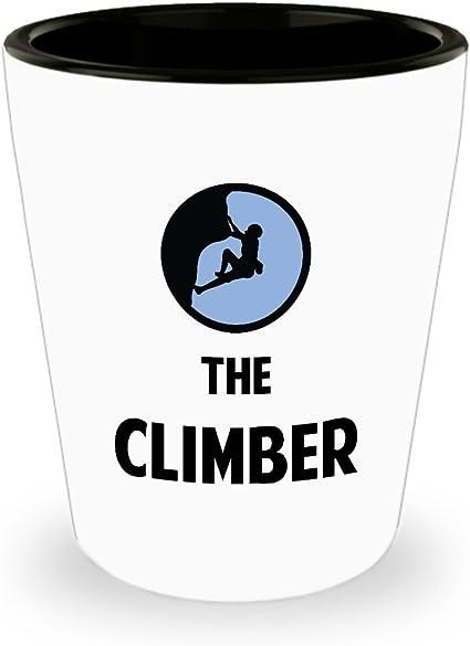 Vaso de chupito de escalada de roca, el escalador, el mejor ...