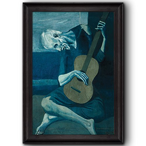 old guitarist canvas - 6
