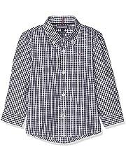 Tommy Hilfiger Boys' Gingham Long Sleeve Shirt