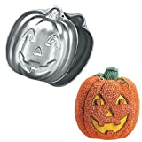 Wilton 3D Stand-Up Jack-O-Lantern Pumpkin/Scarecrow/Witch Cake Pan (2105-3150, 1995)