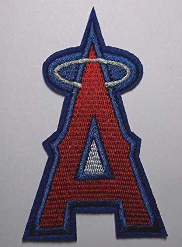 Iron Angel (Los Angeles Angels Embroidered Patch~2 1/2
