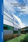 Philological Library Freie Universitat : English Version, Hettlage, Bernd and Turner, Linda J., 3937123741