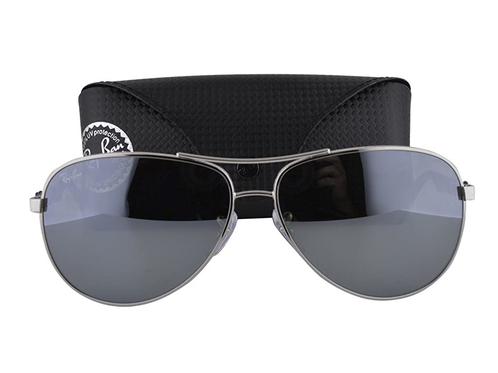 Ray Ban RB8313 Silver w/Crystal Gray Mirror Lens 003/40