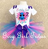 Fingding Dory Birthday Outfit Tutu Party Set