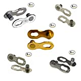 KMC Missing Link 6, 7, 8, 9, 10, 11 Speed (Silver/Gold) 6 Pairs Ezy Pack