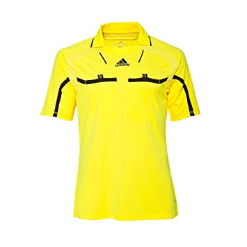 Adidas camiseta de árbitro Fútbol camiseta Hombre Formotion Climacool Fútbol manga corta - neon amarillo, Material: 100% Poliéster., 58 / XL: Amazon.es: ...
