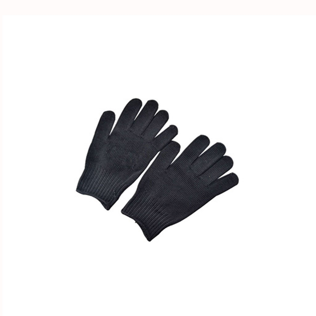 && Outdoor-Schutzhandschuhe 5 Schnittschutz-Arbeitsschutzhandschuhe Schwarz