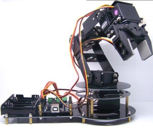 6 dof robotic arm - 9