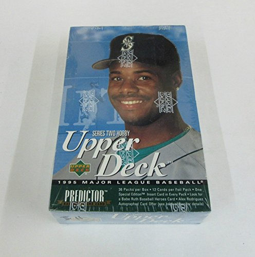 1995 Upper Deck Baseball Series 2 Box (Hobby) (36/12) ()