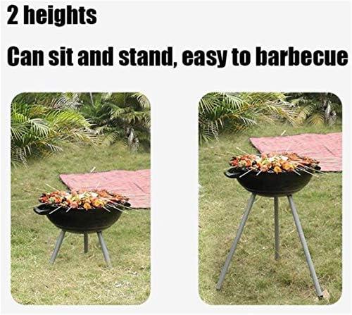 Barbecue HZY, extérieur/Home Charbon Dîner Camping Outil 47 * 54 * 70cm