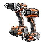 RIDGID R96171 GEN5X 18V Brushless Cordless Hammer Drill / 3-Speed Impact Driver Combo Kit (2-Tool)