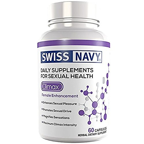 Swiss Navy Climax, Female Sexual Enhancement, 60 Capsules, MD Science Lab