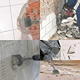 SDS Plus Chisel Bit 3-In Wide Tile Removal Wall and