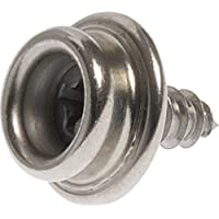 The Hillman Group 58272 Stud Snap with Stainless Steel Screw, 3/8-Inch , by The Hillman Group