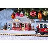PIKO G SCALE MODEL TRAIN BUILDINGS - NORTH POLE STATION (BUILT-UP) - 62265