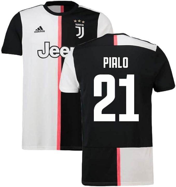 2019-2020 Juventus Adidas Home Football Soccer T-Shirt Camiseta (Andrea Pirlo 21): Amazon.es: Deportes y aire libre