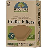 IF YOU CARE Coffee Filters, No. 6, 100 count
