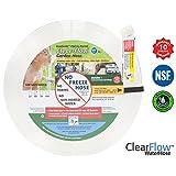 Clear Flow Water Garden Hose, 5 8-Inch / 75-Feet
