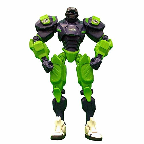 NFL Seattle Seahawks Fox Sports Team Robot, 10-inches