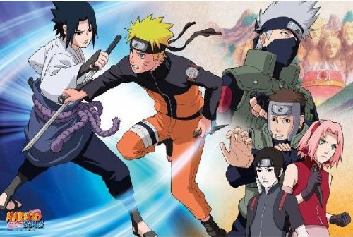 [1000 pieces] NARUTO Fight Jigsaw Puzzle (50 x 75 cm) Japan by ensky